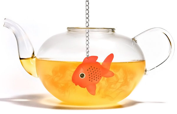 Gold Fish Styled Tea Infuser