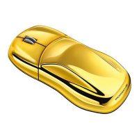 Gold Porsche Computer Mouse