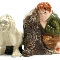 Gollum and Samwise Salt and Pepper Shakers