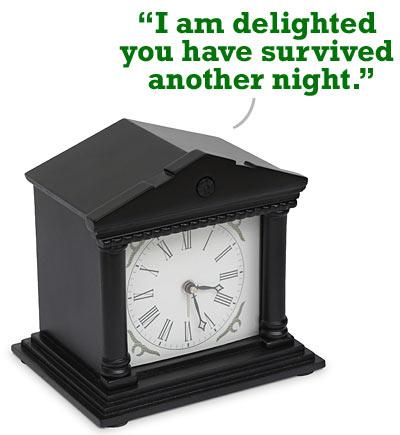 Good Morning Sir Alarm Clock