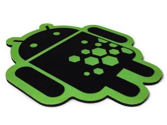 Google Android Cloth Surface Hexcode Mouse Pad