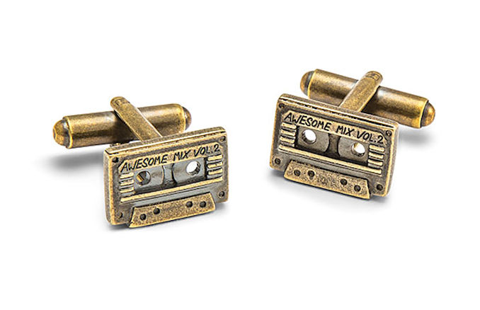 GotG Awesome Mix Vol. 2 Cassette Cufflinks