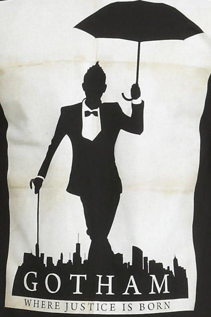 Gotham Oswald Justice Silhouette Shirt