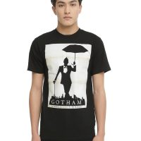 Gotham Oswald Justice Silhouette T-Shirt
