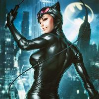 Gotham Sirens Catwoman Premium Art Poster