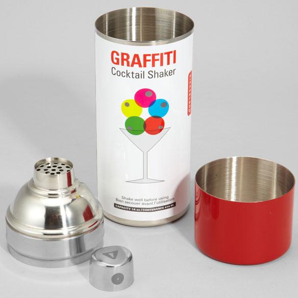 Graffiti Cocktail Shaker