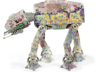 Graffiti Star Wars AT AT