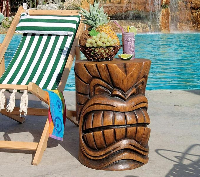 Grande Tiki Sculptural Tables
