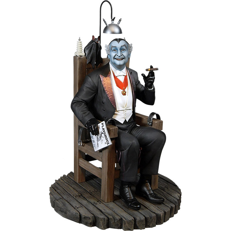 grandpa munster maquette. Black Bedroom Furniture Sets. Home Design Ideas