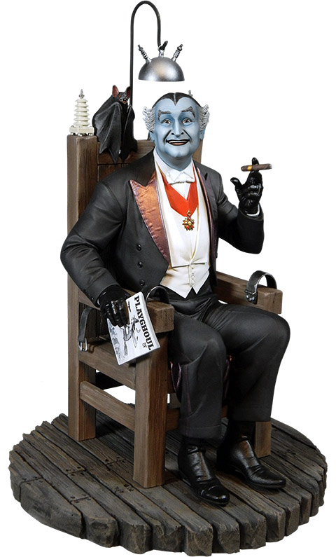 Grandpa Munster Maquette