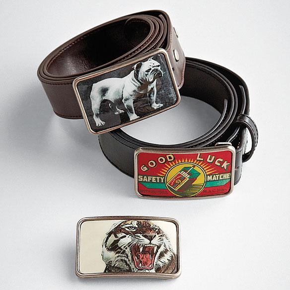 Graphic Belt Buckles