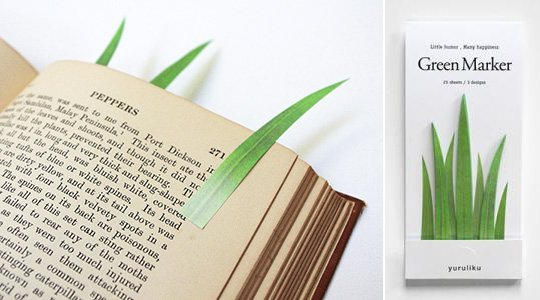 Grass Blades Bookmark