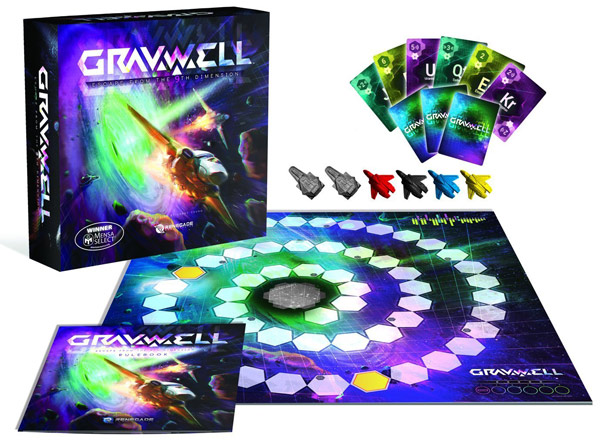 Gravwell Escape From the 9th Dimension Board Game