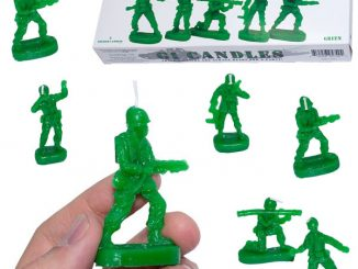 Green Army Guy Candles
