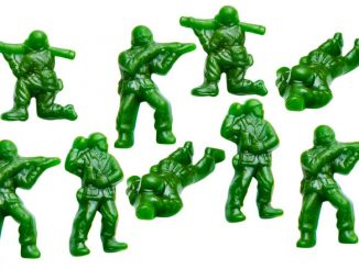 Green Army Men Snacks