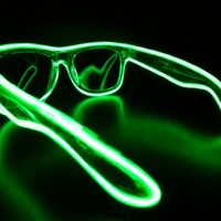 Green Glowing Sunglasses