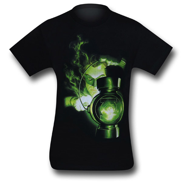 Green Lantern Charging Ring T-Shirt