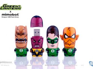 Green Lantern Mimobot Flash Drives