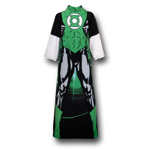 Green Lantern Fleece Cozy Blanket