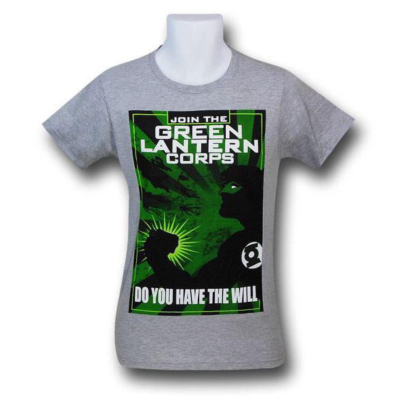 Green Lantern Join The Corps Propaganda Shirt