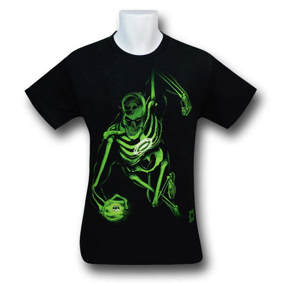Green-Lantern-Verde-X-Ray-T-Shirt
