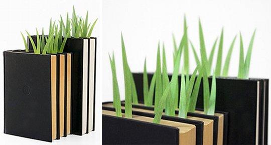 Green Marker Grass Sticky Notes Bookmark 3 Pack Set