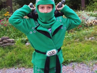 Green Ninjago Costume