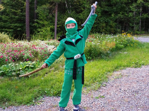 Green Ninjago Lloyd Costume