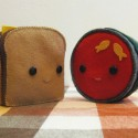 Grilled Cheese and Tomato Soup Stuffed Dolls