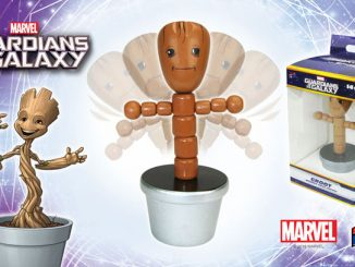 Groot 4-Inch Wooden Push Puppet