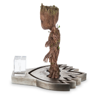 Groot Puppet Stand Side