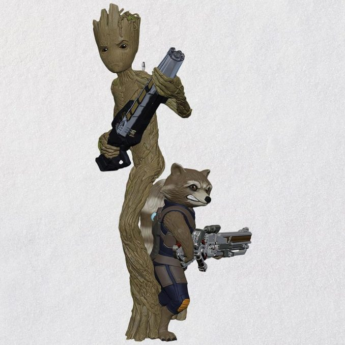 Groot and Rocket Hallmark Keepsake Ornament