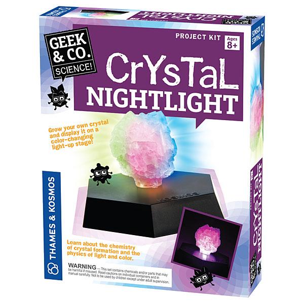 Grow your own Crystal Nightlight