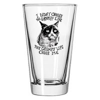 Grumpy Cat Pint Glass