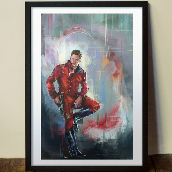 Guardian Star-Lord Art Print
