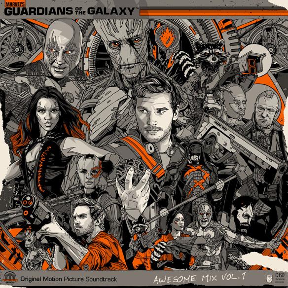 Guardians Of The Galaxy Deluxe Vinyl LP