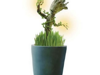 Guardians of Galaxy Grow and Glow Groot