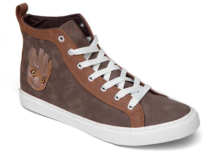 Guardians of the Galaxy Baby Groot High Top Sneakers