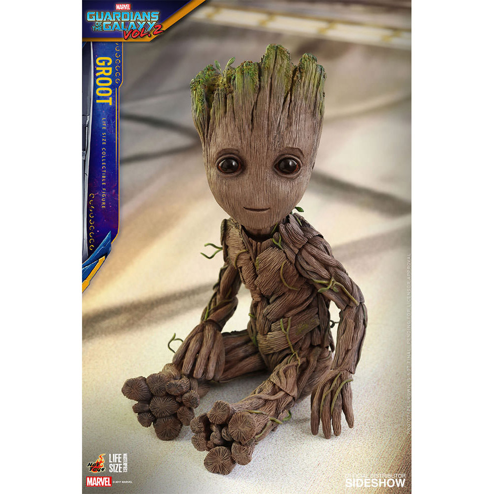 Guardians Of The Galaxy Baby Groot Life Size Figure