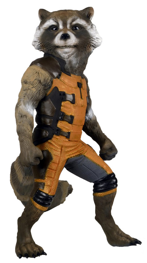 This guardians of the galaxy rocket raccoon full size replica is