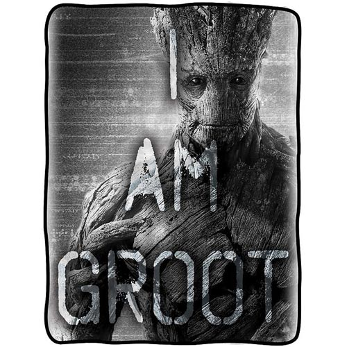 Guardians of the Galaxy I am Groot Fleece Throw Blanket