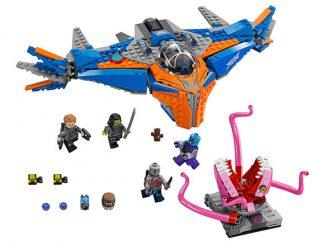 Guardians of the Galaxy LEGO Milano vs Abilisk Set 67081