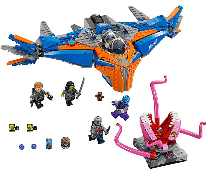 Guardians of the Galaxy LEGO The Milano vs. The Abilisk Set 67081