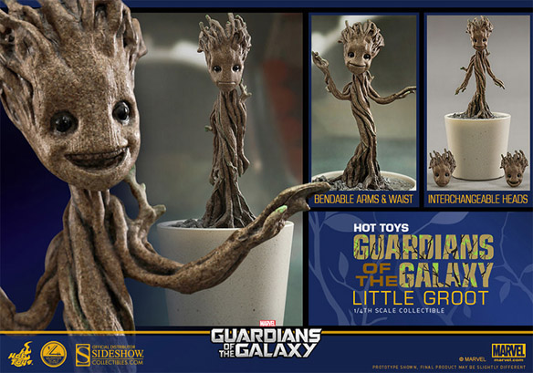 Guardians of the Galaxy Little Groot Quarter-Scale Figure