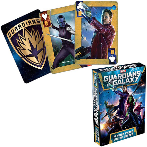 Guardians of the Galaxy Movie Playing Cards