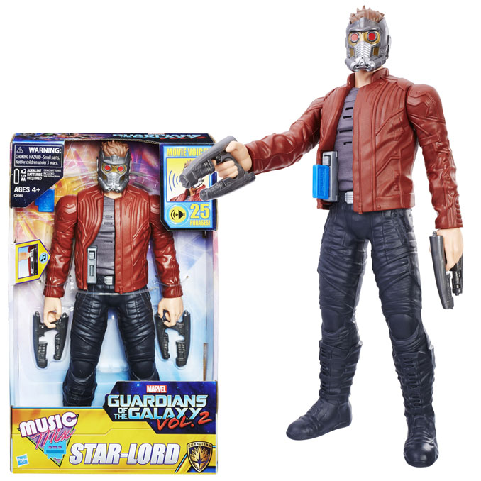 Guardians of the Galaxy Music Mix Star-Lord 12-Inch Figure