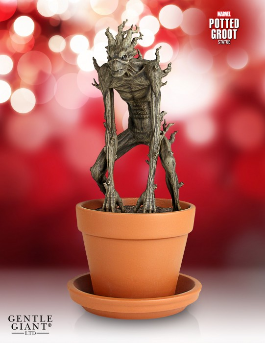 Guardians of the Galaxy Potted Groot Statue