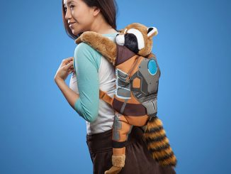 Guardians of the Galaxy Rocket Raccoon Backpack Buddy