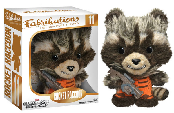 Guardians of the Galaxy Rocket Raccoon Fabrikations Plush Figure