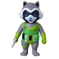 Guardians of the Galaxy Rocket Raccoon Marvel Hero Sofubi Vinyl Figure